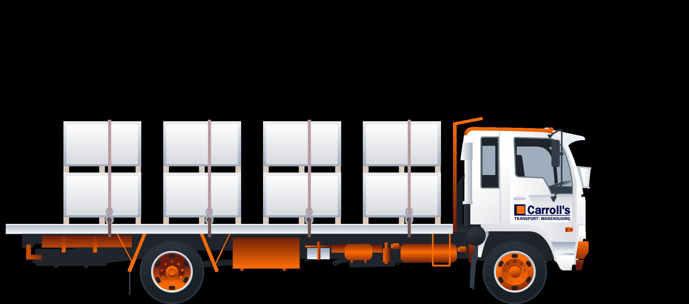Flatdeck trucks