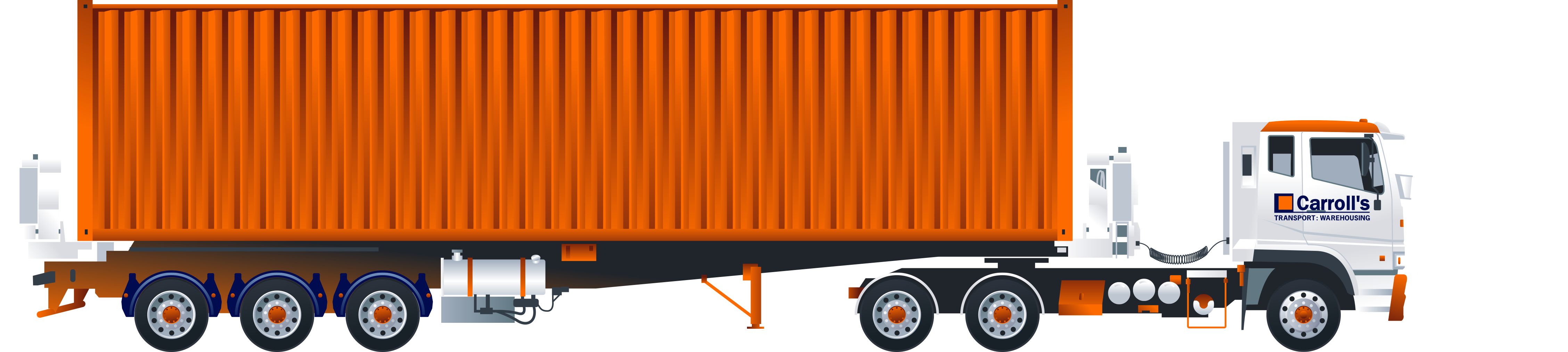 Container Side-loader Trucks